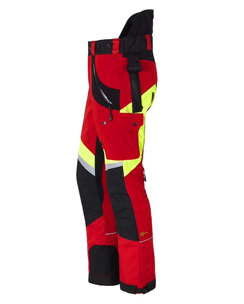 X-treme Air Schnittschutzhose rot/gelb Bild 2