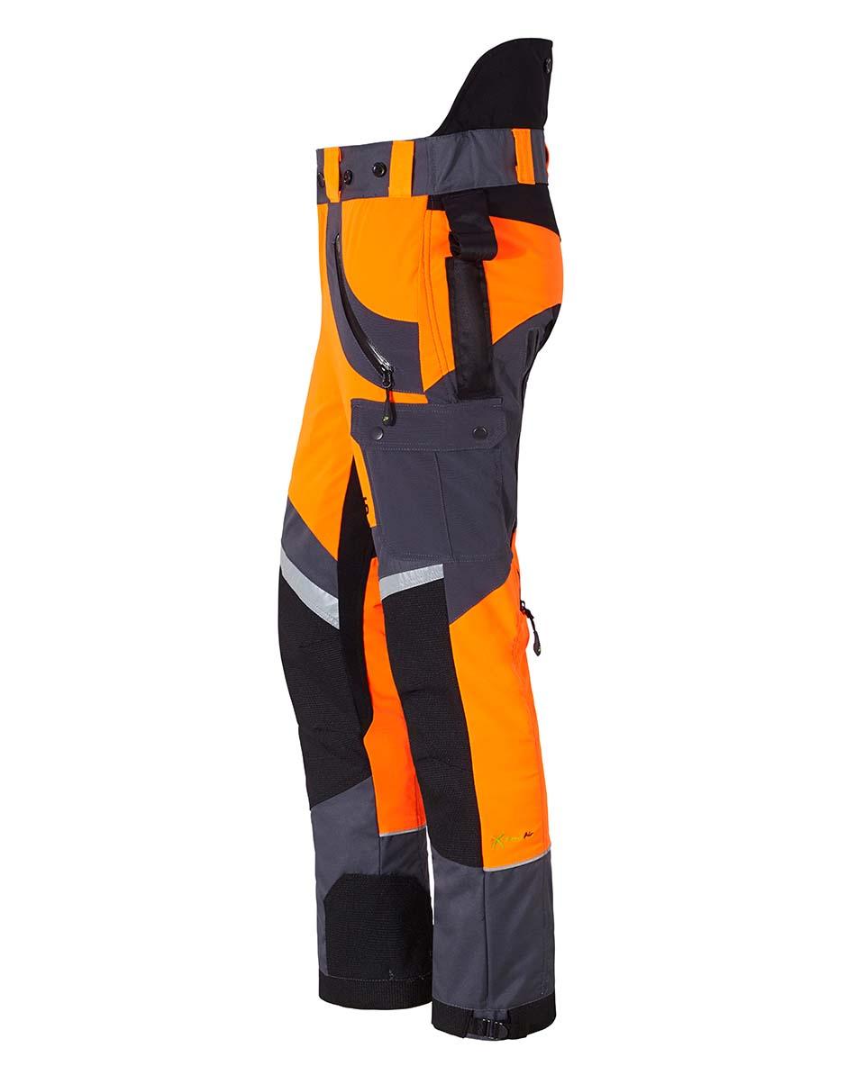 X-treme Air Schnittschutzhose orange/grau Bild 2