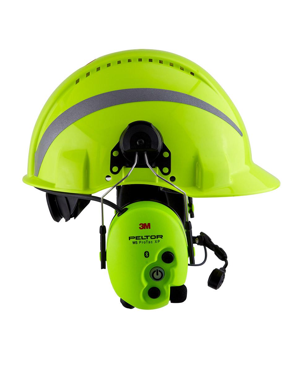 HiVis Funk-Kopfschutz-Kombination 3M WS ProTac XP Forestry Bild 2