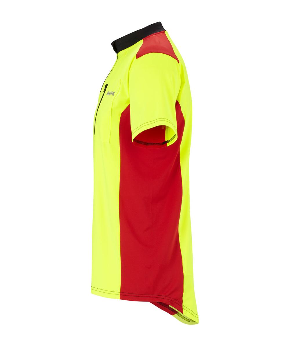 KOX Funktionsshirt Kurzarm, Gelb/Rot, XX77171
