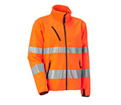 JOBMAN Softshell Jacke HiVis 1202 Orange