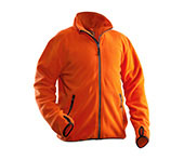 JOBMAN Fleecejacke 5501 Orange