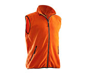 JOBMAN Fleeceweste 7501 Orange