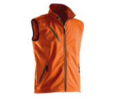 Jobman Softshell-Weste 7502 Orange