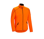 Fleece Polojacke orange