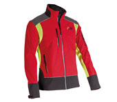 X-treme Shell - Soft Shell-Jacke in rot/gelb