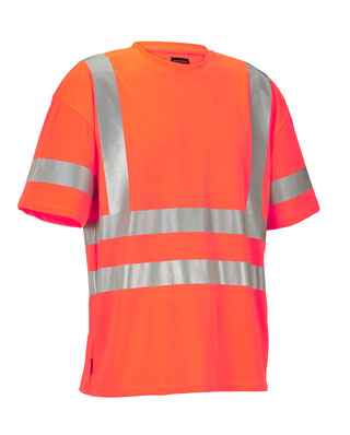 JOBMAN T-Shirt HiVis 5682 Orange